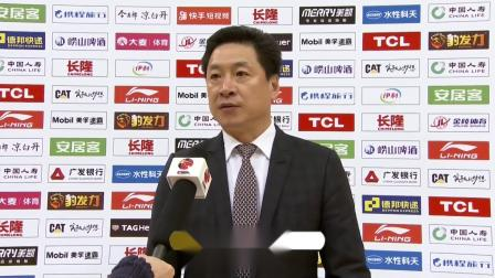 赛后采访-李春江:防守做的不错,球队还要坚持