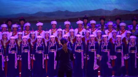 草原情合唱音乐会 (11)--无伴奏合唱:四海