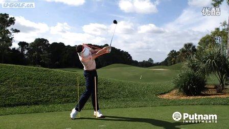 【优扬高尔夫】PGA锦标赛冠军基根-布拉德利开球挥杆慢动作
