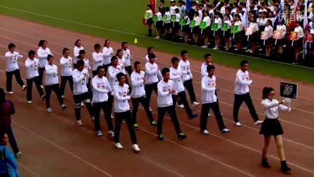 鞍山一中2015年运动会开幕式 20150929