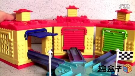 火车宝宝 卡利 布鲁斯特 基础建设套装 美高 积木 拆箱试玩