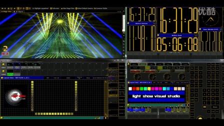 grand MA2同步对称效果layout功能技巧