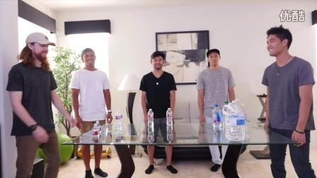 Ryan Higa 原创 - RHPC挑战花式翻塑料水瓶 让你们开开眼界吧