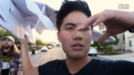 Ryan Higa 原创 - 超级无敌厉害!纸飞机花式投篮
