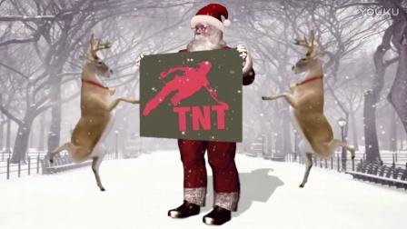 《跑酷大世界》祝:大家 圣诞节快乐 2016【TNT跑酷】