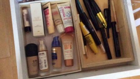 化妆品收纳清理3[扔掉1000多元的化妆品]