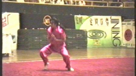 1995年全国武术套路锦标赛 女子传统项目 三类拳 009 地躺拳 李英(北京)