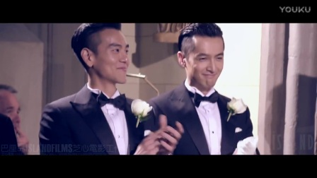 袁弘婚礼一周年纪念视频彭于晏部分cut