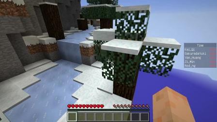 我的世界Minecraft-籽岷的1.12多人跑酷 套路螺旋跑酷 上集视频