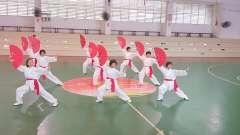 《中国响扇》旭日太极队表演  开心歌舞艺术团庆