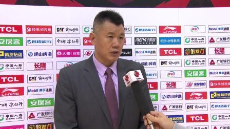 赛后采访-刘铁:防守端做的不好,对手处理机会