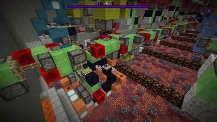 ★我的世界★Minecraft《籽岷的红石地图介绍 自动挖矿机》