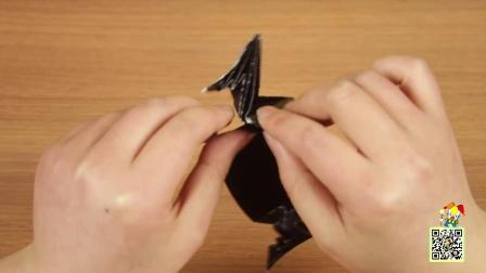 【1001个小剧场】教你用纸做出蝙蝠侠面具