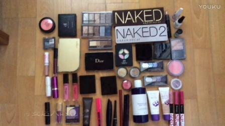 我的化妆品收纳清理2[扔掉1000多元的化妆品]