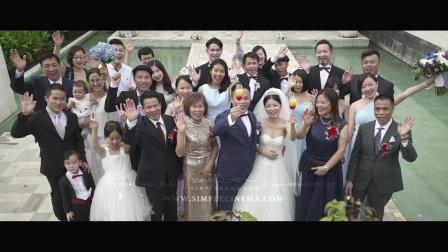 Steven+hannah |AYANA婚礼