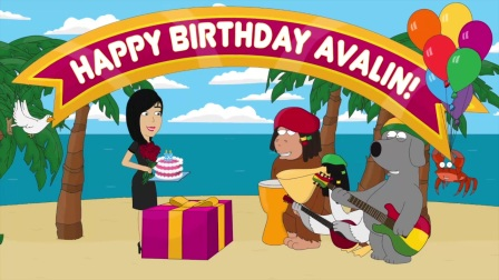 Happy Birthday Avalin