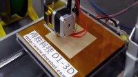 得胜 D1-3D 打印机 测试视频(一)
