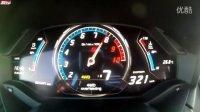 兰博新小牛Lamborghini Huracan 0-320 kmh加速实录