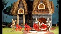 扣扣菟子——第一集胡萝卜 沈阳建筑大学定格动画实验室【人偶材料羊毛毡】