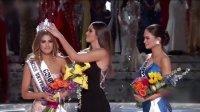 原创精选 史上最尴尬 环球小姐决赛主持人竟报错冠军 151222