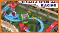 不靠普!托马斯很他的朋友们小火车竟然和蜘蛛侠在玩过山车!我们也来玩吧! 小猪佩奇 蜡笔小新 火影忍者 熊出没 倒霉熊 画江湖 妖精的尾巴 海贼王 大冒险中文动画