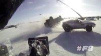 《速度與激情8》冰島片場直擊 茫茫雪野機車飛馳制造當地最大爆破場面