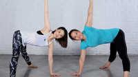 FitTime瑜伽体式-双角式