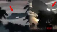 """马来西亚农村上空盘旋巨大的""""不明飞行物"""""""