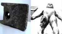 #厉害了我的双十一#欧洲出土神秘铝合金 疑似25万年前外星人遗留地球UFO残骸