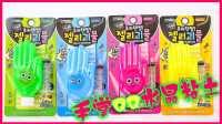 彩色表情手掌QQ水晶粘土玩具试玩 23