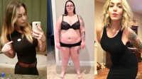 290斤胖子被羞辱 减肥成功变性感女神 105