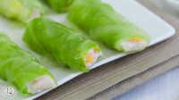 青脆欲滴的美味蒸菜 包菜肉卷 79