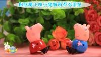 粉红小猪和乔治采花亲子小故事 50