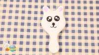 超轻粘土教程黏土手工小猫化妆镜 54