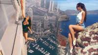 愚蠢的自拍 俄美女模特迪拜玩命自拍走红网络 106