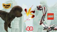 【酷爱ZERO】LEGO乐高系列48机器大蛇VS小狗Puppy,EV3机器人MINDSTORM