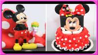 制作米老鼠草莓蛋糕 93