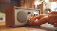纯手工复古蓝牙音箱收音机,超高颜值放在哪都是艺术品