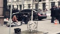 俄前议员乌克兰首都市中心遭枪击身亡