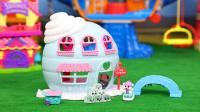 小可爱扭蛋 冰淇淋小屋  squinkies 帽子戏法 冰屋玩具 购物小能手