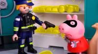 猪妈妈和佩奇在超市遇到神秘阿姨 小猪佩奇棉花糖