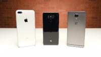 LG G6对比iPhone 7 Plus一加3T:还好没在国内上市.mp4