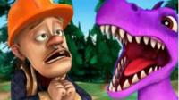 熊出没熊大光头强大战游戏 恐龙世界总动员 恐龙战队