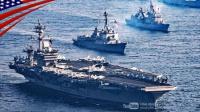 应对邪恶朝鲜不断挑衅-美国和韩国-大规模军事演习