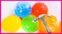 彩虹气球冰冻水舞珠珠 138