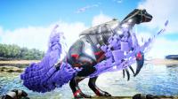 【虾米解说】方舟生存进化347,炸了毛的机械镰刀龙!
