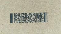 高解析喷码机二维码喷码效果展示PDF417纸箱喷码机二维码识别容易-广州蓝新