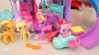 迪士尼小马宝莉公主彩虹王国游乐场 婴儿娃娃培乐多彩泥玩具 橡皮泥 惊喜鸡蛋玩具 迪斯尼 【 俊和他的玩具们 】