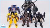 变形金刚 最后骑士五机器人首映版影星火花 擎天柱 变形金刚大全 美国玩具 玩具视频大全 儿童节礼物 【 俊和他的玩具们 】