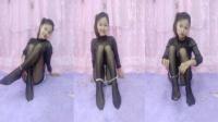2017第119期玉玲珑广场舞--五一快乐-特辑试戴脚链黑丝秀-电脑版本